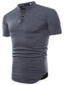 povoljno Muške majice i potkošulje-Majica s rukavima Muškarci - Osnovni Izlasci / Vikend Jednobojni