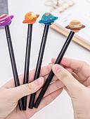 povoljno Satovi dodaci-gel olovka pero pero, Plastika Crn tinta boje Za Školski pribor Uredski pribor Pakiranje od 12 pcs