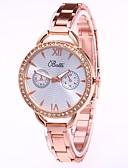 abordables Vestidos de Mujer-Xu™ Mujer Reloj de Vestir Reloj de Pulsera Reloj de diamantes Cuarzo Plata / Dorado / Oro Rosa Nuevo diseño Reloj Casual Analógico damas Casual Moda - Dorado Plata Oro Rosa Un año Vida de la Batería