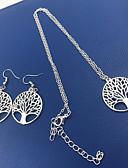 povoljno Digitalni satovi-Žene Ogrlica Laso Stablo života životno stablo dame Jednostavan Moda Naušnice Jewelry Pink Za Dnevno Festival