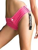 hesapli Kadın Pantolonl-Kadın's Actif / Temel Kotlar / Şortlar Pantolon Solid