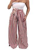 ieftine Rochii Damă-Pentru femei Șic Stradă Pantaloni Chinos Pantaloni Dungi