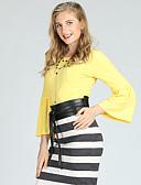 preiswerte Damen Pullover-Damen Aktiv / Grundlegend Pullover - Solide
