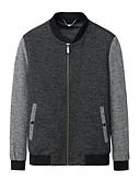 ieftine Maieu & Tricouri Bărbați-Bărbați Stand Jachetă Creative / Manșon Lung
