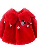 povoljno Vanjska odjeća za bebe-Dijete Djevojčice Aktivan Dnevno Jednobojni Kolaž Dugih rukava Normalne dužine Pamuk Jakna i kaput Obala