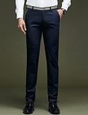 ieftine Pantaloni Bărbați si Pantaloni Scurți-Bărbați Zvelt Pantaloni Chinos Pantaloni Mată / Muncă