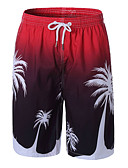 ieftine Pantaloni Bărbați si Pantaloni Scurți-Bărbați De Bază Pantaloni Scurți Pantaloni Floral
