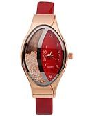 ieftine Quartz-Xu™ Pentru femei Ceas Elegant Ceas de Mână Quartz Piele PU Matlasată Negru / Alb / Roșu Model nou Ceas Casual imitație de diamant Analog femei Casual Modă - Rosu Albastru Roz Un an Durată de Via