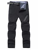 זול חולצות לגברים-בגדי ריקוד גברים בסיסי רזה צ'ינו מכנסיים - אחיד שחור