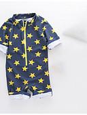 זול בגדי ים לבנים-בגדי ים גיאומטרי ליציאה / חוף בנים פעוטות