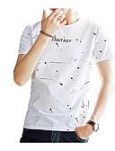 ieftine Maieu & Tricouri Bărbați-Bărbați Tricou De Bază - Buline Imprimeu