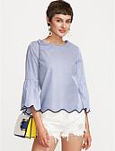 ieftine Tricou-Pentru femei Stil Nautic Tricou De Bază - Mată / Vară