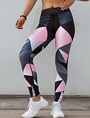 ieftine Leggings-Pentru femei Sport Legging - Geometric Talie medie