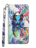 cheap Women's Skirts-Case For Samsung Galaxy S9 / S9 Plus / S8 Plus Wallet / with Stand / Flip Full Body Cases Owl Hard PU Leather