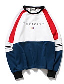 povoljno Majica s rukavima-Žene Osnovni Sportska majica Color block / Slovo