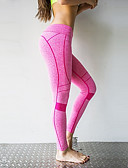 abordables Panties-Mujer Pantalones de yoga - Morado, Azul cielo, Rosa Deportes Encaje de costura Licra Medias / Mallas Largas / Leggings Danza, Running, Fitness Ropa de Deporte Transpirable, Diseño Anatómico, Relleno