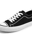 olcso Férfi pólók-Férfi Kényelmes cipők Vászon Ősz Tornacipők Fekete / fehér / Fekete / Vörös / Fekete és sárga