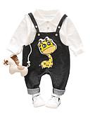 tanie Zestawy ubrań dla Chłopięce niemowląt-Dziecko Dla chłopców Vintage Codzienny Solidne kolory Długi rękaw Regularny Len / Akryl Komplet odzieży Czarny / Brzdąc