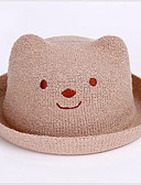 זול ילדים כובעים ומצחיות-מידה אחת לבן / בז' כובעים ומצחיות אחיד יומי יוניסקס פעוטות
