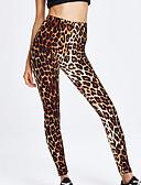 ieftine Leggings-Pentru femei Zilnic Sport Legging - Leopard Talie Înaltă
