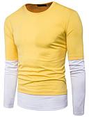 ieftine Tricou Bărbați-Bărbați Tricou De Bază - Mată