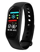 ieftine Rochii NYE-KUPENG M3S Uita-te inteligent Android iOS Bluetooth Sporturi Rezistent la apă Monitor Ritm Cardiac Măsurare Tensiune Arterială Touch Screen Pedometru Reamintire Apel Monitor de Activitate