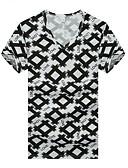 povoljno Majica s rukavima-Majica s rukavima Muškarci - Aktivan / Osnovni Dnevno / Sport Geometrijski oblici / Color block Print