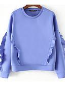 povoljno Majica s rukavima-Žene Osnovni Sportska majica Jednobojni