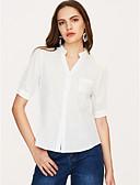 preiswerte Bauchtanzkleidung-Damen Solide Hemd, Hemdkragen