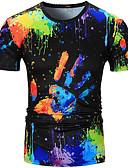 tanie Koszulki i tank topy męskie-T-shirt Męskie Podstawowy Kolorowy blok