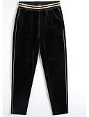 ieftine Pantaloni de Damă-Pentru femei De Bază Zvelt Blugi Pantaloni - Mată Negru