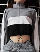 זול טרנינגים וקפוצ'ונים לנשים-בגדי ריקוד נשים מכנסיים - פסים אפור S / גולף