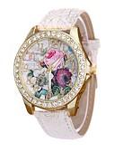 cheap Quartz Watches-Women's Dress Watch Wrist Watch Quartz Black / White / Blue New Design Casual Watch Imitation Diamond Analog Ladies Casual Fashion - Red Blue Pink One Year Battery Life / Large Dial
