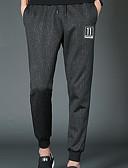 זול חולצות לגברים-בגדי ריקוד גברים מידות גדולות צ'ינו מכנסיים אותיות