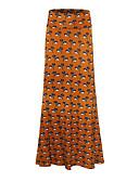 ieftine Rochii NYE-Pentru femei Mărime Plus Size Bodycon Fuste - Bloc Culoare Talie Înaltă