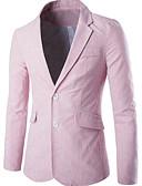 ieftine Jachete & Paltoane Bărbați-Bărbați Blazer De Bază Dungi