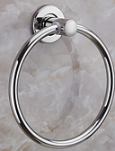 povoljno Uređaji za kupanje-Šipka za ručnik New Design / Cool Suvremena Nehrđajući čelik / željezo 1pc ručnik prsten Zidne slavine