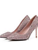 ieftine Fuste de Damă-Pentru femei Pantofi Pumps Sintetice Primăvară Tocuri Toc Stilat Roz