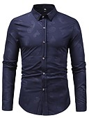 cheap Men's Sweaters & Cardigans-Men's Basic Shirt - Geometric