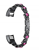 halpa Smartwatch-nauhat-Watch Band varten Fitbit Alta HR / Fitbit Alta Fitbit Urheiluhihna Ruostumaton teräs Rannehihna