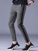 ieftine Pantaloni Bărbați si Pantaloni Scurți-Bărbați Șic Stradă Pantaloni Chinos Pantaloni - Mată Negru