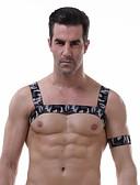 preiswerte Exotische Herrenunterwäsche-Herrn Sexy Rundhalsausschnitt Unterhemd camuflaje / 1 Stück