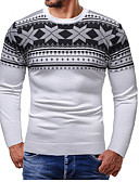 cheap Men's Sweaters & Cardigans-Men's Street chic Pullover - Color Block
