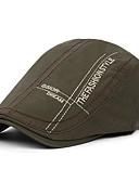 זול כובעים לגברים-כובע כומתה (בארט) - דפוס בסיסי בגדי ריקוד גברים