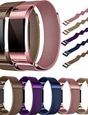 abordables Camisas para Mujer-Ver Banda para Fitbit Charge 2 Fitbit Correa Milanesa Metal / Acero Inoxidable Correa de Muñeca