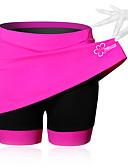 baratos Roupas Íntimas e Meias Masculinas-SPAKCT Mulheres Saia para Ciclismo Moto Shorts / Saias / Shorts Acolchoados Tapete 3D, Respirável Sólido, Retalhos, Clássico Elastano Preto / Azul / Rosa claro Roupa de Ciclismo / Com Stretch
