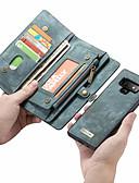 halpa Puhelimen kuoret-CaseMe Etui Käyttötarkoitus Samsung Galaxy Note 9 / Note 8 Lomapkko / Korttikotelo / Flip Suojakuori Yhtenäinen Kova PU-nahka varten Note 9 / Note 8