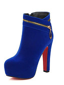 cheap Women's Sweaters-Women's Bootie Suede Fall Heels Stiletto Heel Pointed Toe Booties / Ankle Boots Satin Flower Black / Red / Blue / Daily