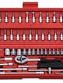 preiswerte Damen Leggings-Chrom-Vanadium-Stahl für die Autoreparatur 46 in 1 Werkzeug Set