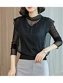 ieftine Bluză-Pentru femei Stil Nautic Bluză Mată